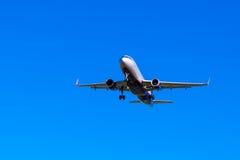 飞行喷气机 免版税库存图片