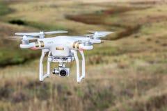飞行在大草原的Phantome寄生虫 库存照片