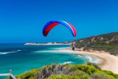 飞行在大洋路,澳大利亚 免版税库存图片