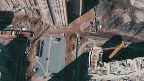 飞行在未完成的大厦上 股票录像