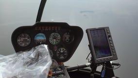 飞行在直升机 影视素材