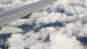 飞行在飞机上 股票录像