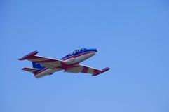 飞行在飞行中G-2 免版税库存照片