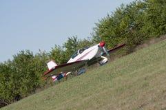 飞行在 免版税库存照片