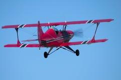 飞行在 免版税图库摄影