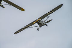 飞行天2014年5月11日,在Kjeller (airshow) 库存照片