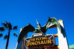 飞行恐龙驻地 免版税库存照片