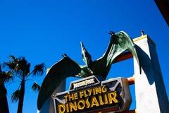 飞行恐龙驻地 库存照片