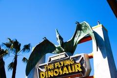 飞行恐龙驻地 库存图片