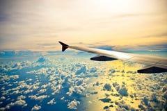 飞行我高天空 库存照片