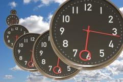 飞行时间 向量例证