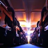 飞行晚上 库存图片