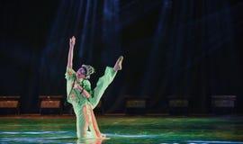飞行燕子北京歌剧女演员这全国民间舞 免版税库存图片