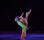 飞行燕子北京歌剧女演员这全国民间舞 图库摄影