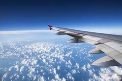 从飞行的看法 库存照片