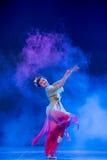 飞行的神仙中国古典舞蹈 免版税库存图片