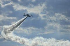飞行的第二沈阳法库国际国会 免版税库存照片