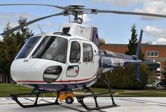 飞行直升机生活 免版税图库摄影
