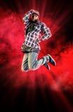 飞行舞蹈家 库存图片