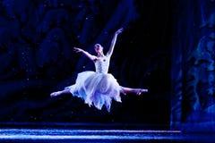 飞行芭蕾舞女演员 库存图片