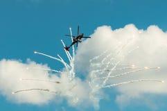 飞行表演2013年,拉多姆2013年8月30日 库存图片