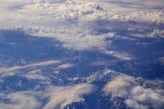 飞行视图视窗 免版税库存照片