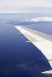 飞行视图 库存图片