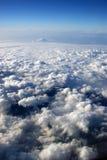 飞行视图 免版税库存图片