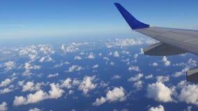 飞行迈阿密4k佛罗里达美国的喷气机简单的夏日 影视素材