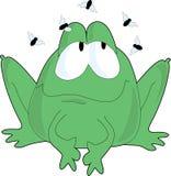 飞行青蛙 免版税库存图片