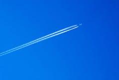 飞行飞机 库存照片