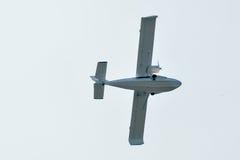 飞行水上飞机SK-12猎户星座 图库摄影
