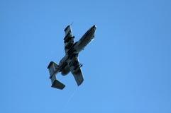 飞行A10 Warthog 免版税库存照片