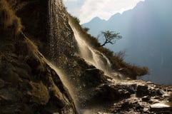 飞跃峡谷,云南,瓷的老虎 免版税库存照片
