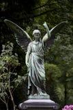 飞过的天使 免版税库存照片