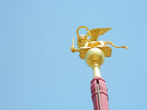 飞过的狮子,威尼斯的标志 免版税库存图片