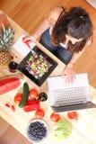 素食信息 库存图片