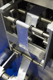 食品包装机器v 库存图片