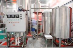 食品工业设备 免版税图库摄影