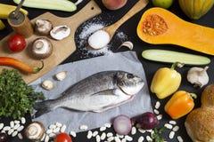 食品成分 免版税库存照片