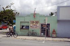食品批发市场基韦斯特岛 库存图片