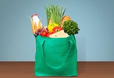 食品杂货袋 免版税库存图片