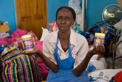 食品项目妇女 免版税库存图片