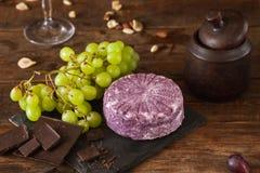 食家产品的食品组成 免版税库存图片