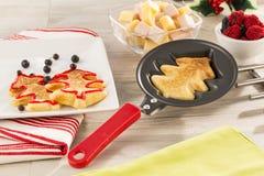 食家家庭的产品 免版税库存图片