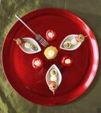 食家brochette 库存图片