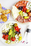 素食开胃小菜 库存图片