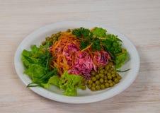素食沙拉 免版税图库摄影