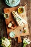 素食烹调的健康新鲜蔬菜 库存照片