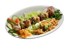食物串 免版税图库摄影